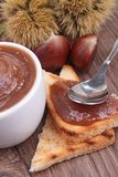 Chestnut spread Royalty Free Stock Photography