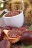 Chestnut spread Stock Photography