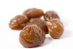 Chestnuts dessert.  Royalty Free Stock Image