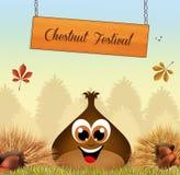 Chestnuts festival Stock Photos