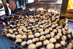 Chestnuts in  Istanbul Royalty Free Stock Image