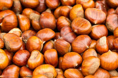 Chestnuts for sale Stock Image