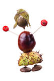 Chestnuts Toys Royalty Free Stock Photography