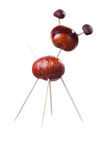 Chestnuts Toys Stock Photo
