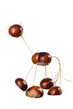 Chestnuts Toys Stock Photos