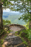Chestoa Overlook in Western North Carolina Royalty Free Stock Photo