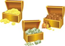 Chests - 1 Royalty Free Stock Photography
