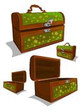 Chests vector Stock Photography