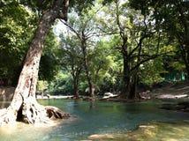 Chet Sao Noi National Park vattenfall Royaltyfria Foton