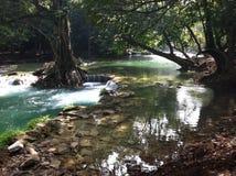 Chet Sao Noi National Park vattenfall Royaltyfri Fotografi
