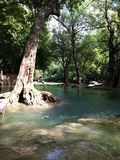 Chet Sao Noi National Park vattenfall Royaltyfria Bilder