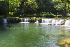 Chet Sao Noi vattenfall Fotografering för Bildbyråer