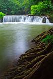 Chet Sao Noi vattenfall i Thailand Royaltyfria Bilder