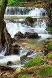 Chet Sao Noi vattenfall i Thailand Arkivbild