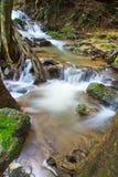 Chet Sao Noi vattenfall i Thailand Fotografering för Bildbyråer