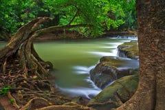 Chet Sao Noi vattenfall i Thailand Royaltyfri Foto