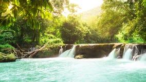 Chet Sao Noi Waterfall Nationalpark Thailand Fotografering för Bildbyråer