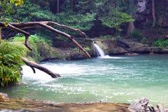 Chet Sao Noi waterfall in Saraburi Stock Photos