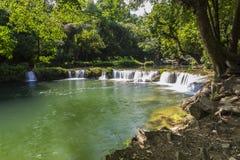 Chet Sao Noi waterfall Royalty Free Stock Images