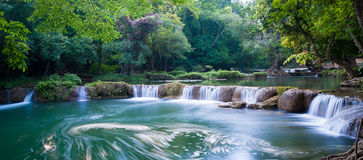 Chet Sao Noi Waterfall stock images