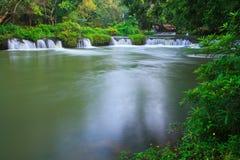 Chet Sao Noi Waterfall Thailand Royaltyfria Foton