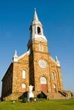 Cheticamp Church. Historic Acadian stone church of Saint Pierre, Cheticamp, Nova Scotia, Canada Royalty Free Stock Photos