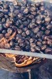 Chetnuts asados Fotos de archivo