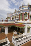 chettiar印度karaikudi nadu宫殿泰米尔语 库存照片