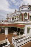 chettiar Тамильский язык дворца nadu karaikudi Индии Стоковое Фото