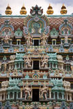 Chettiar Hindu Temple - Singapore Stock Photo