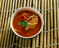 Chettinad Chicken Rasam Royalty Free Stock Photography