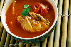 Chettinad Chicken Rasam Royalty Free Stock Image