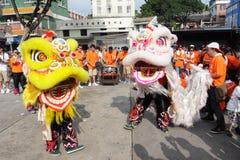 Cheung Chau Bun Festival 2013 Imagem de Stock