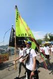 Cheung Chau Bun Festival 2015 en Hong Kong Imagen de archivo