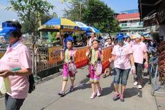 Cheung Chau Bun Festival 2015 en Hong Kong Imagen de archivo libre de regalías