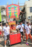 2015 Cheung Chau Bun Festival in Hong Kong Stock Foto