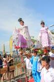 Cheung Chau Bun Festival in Hong Kong 2015 Royalty Free Stock Image