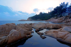 Cheung Chau coast Stock Photo