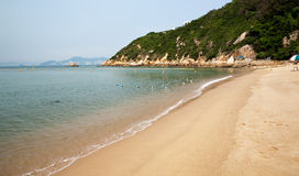 Cheung Chau Insel-Strand Hong Kong stockfotografie