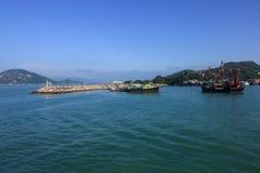 Cheung Chau Island Arkivfoto