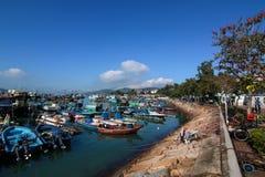Cheung Chau Island Royalty-vrije Stock Foto's