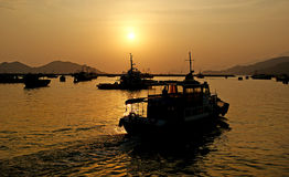 Cheung Chau Island.Hong Kong. Stock Photo