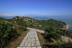 Cheung Chau Island Northern Lookout Royalty-vrije Stock Afbeelding