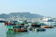 Cheung Chau Sea View In Hong Kong Stock Image