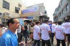 Cheung Chau uliczny widok w Hong Kong Obraz Royalty Free