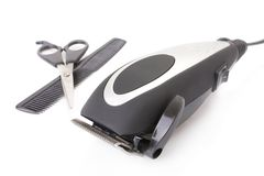 chevêtre moderne de cheveu électrique de barbe Photos stock