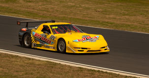 Chev Corvette Race Car Royalty Free Stock Photography
