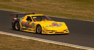 Chev korwety samochód wyścigowy Fotografia Royalty Free