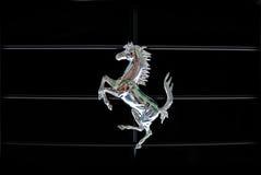 Cheval caracolant de Ferrari Images stock