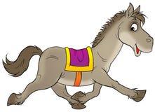 Cheval courant illustration libre de droits